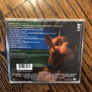 Other - Scooby Doo music soundtrack CD